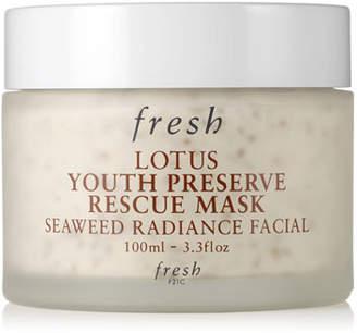 Fresh Lotus Youth Preserve Rescue Mask, 3.3 oz./ 100 mL