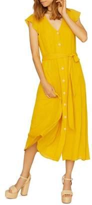 Sanctuary Eden Button-Front Midi Dress
