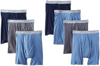 Fruit of the Loom Men's 7Pack Boxer Briefs 100% Cotton Underwear 4XL