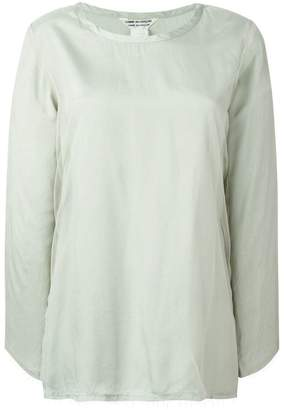Comme des Garcons Pre-Owned longsleeved blouse