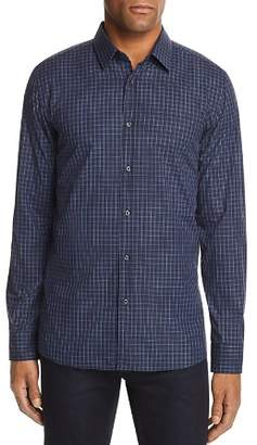 HUGO Elisha Plaid Extra Slim Fit Button-Down Shirt