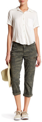 Union Bay Norma Relaxed Crop Camo Pant (Petite) $46 thestylecure.com