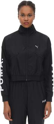 Puma Select CROPPED NYLON TRACK TOP