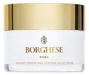 Borghese Radiant Renew Restore Night Cream/ 1 oz