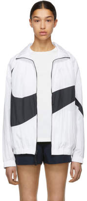 Nike (ナイキ) - Nike ホワイト NSW HBR トラック ジャケット