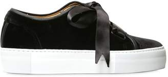 Etq Amsterdam 40mm Handmade Low 1 Velvet Sneakers