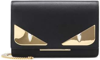 Fendi Wallet on Chain leather shoulder bag