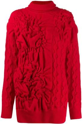 Simone Rocha textured knitted jumper