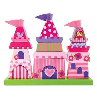 Stephen Joseph NEW Castle Wooden Stacking Puzzle