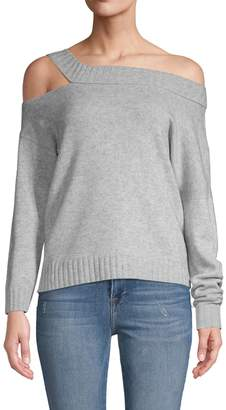 Vince Off-Shoulder Wool & Cashmere Sweater
