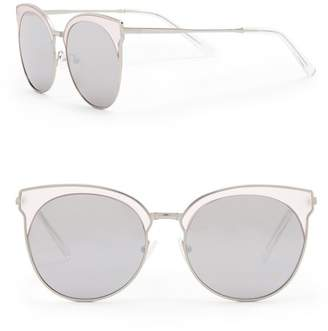 Quay 56mm Mia Bella Cat Eye Sunglasses