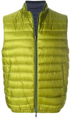 Herno sleeveless padded jacket