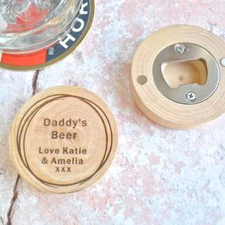 Sweet Pea Design Personalised Daddy's Bottle Opener