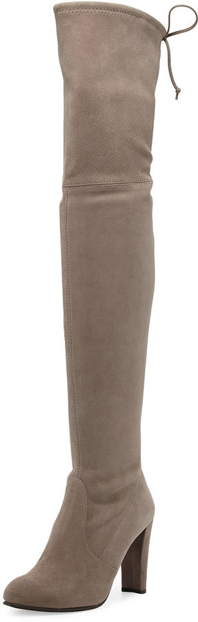 Stuart Weitzman Highland Suede Over-The-Knee Boot 3