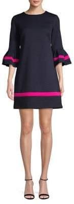 Eliza J Colourblock Shift Mini Dress