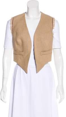 Brunello Cucinelli Monili-Trimmed Vest w/ Tags