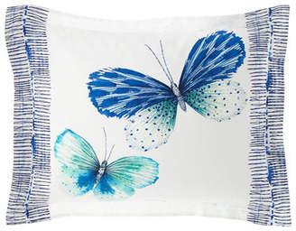 Designers Guild Papillons Cobalt Standard Sham