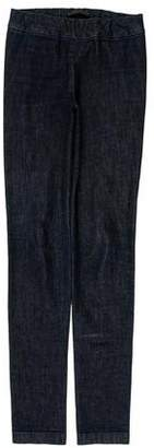 The Row Mid-Rise Jeggings