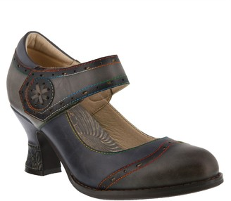 Spring Step L'Artiste by Leather Mary Janes - Maryellen