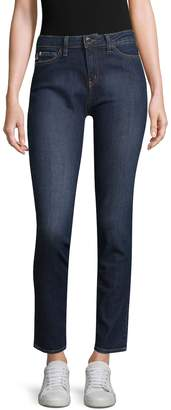 Love Moschino Women's Cotton Cropped Skinny Jeans