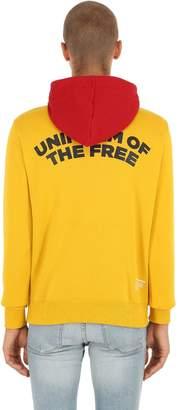 G Star G-Star Uotf Core Hooded Printed Sweatshirt