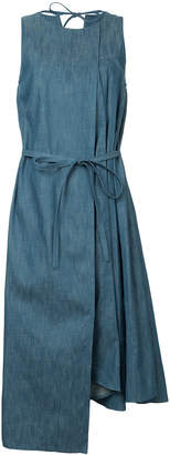 Miharayasuhiro asymmetric denim dress