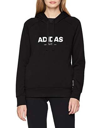 adidas Women's Essentials All Caps Overhead Hoodie