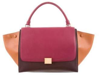 Celine Tricolor Medium Trapeze Bag