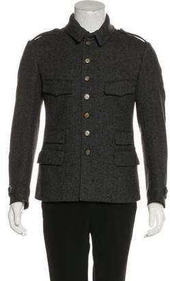 Gucci Wool Herringbone Jacket