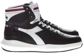 dc329fb51f Diadora Black Leather Shoes For Men - ShopStyle UK