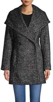 Trina Turk Trina By Amelia Double-Breasted Wrap Coat