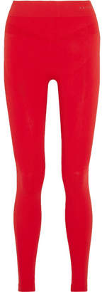 FALKE Ergonomic Sport System - Stretch-knit Leggings - Red