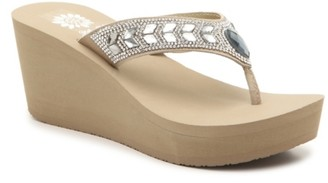 Yellow Box Belmac Wedge Flip Flop