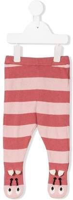 Stella McCartney striped bumble bee trousers