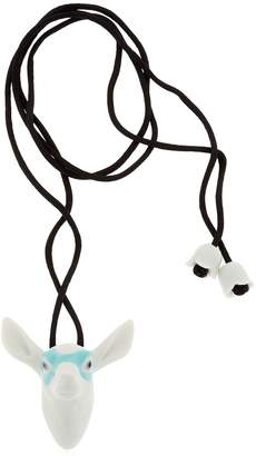 Lladro Fawn Animal Heroes Necklace