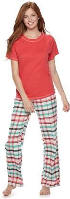 So Juniors' SO 3-piece Tee, Shorts & Pants Pajama Set