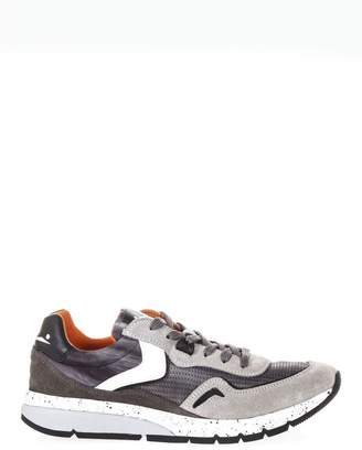 Voile Blanche Endavour Mesh Gray Suede & Nylon Sneakers