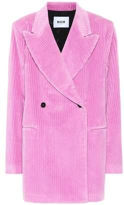 MSGM Corduroy blazer