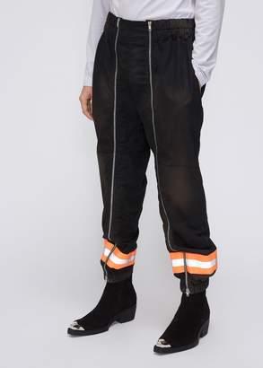 Calvin Klein Resin Coated Gabardine Fireman Pant