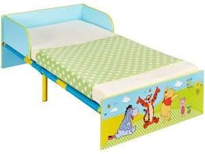 Winnie The Pooh Toddler Bed - No Storage