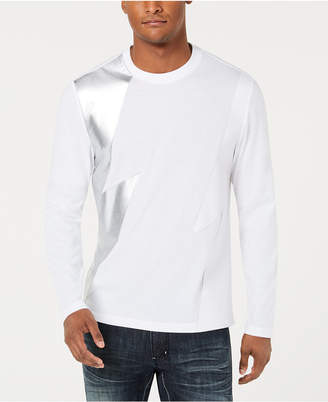 INC International Concepts I.n.c. Men's Long-Sleeve Lightning T-Shirt