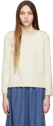 A.P.C. Off-White Annette Jumper Sweatshirt