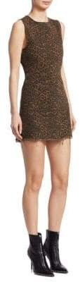 Alexander Wang Leopard Print Mini Dress