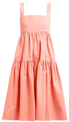 Three Graces London Cosette Cotton Dress - Womens - Pink