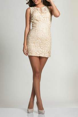 Dave and Johnny Mini Sequin Dress