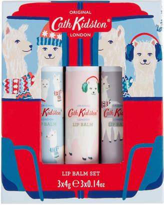 Cath Kidston Alpacas Set of 3 Lip Balms