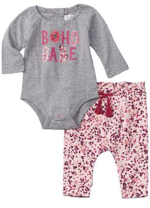Jessica Simpson Girls' 2Pc Bodysuit & Pant Set