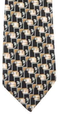 Valentino Silk Printed Tie