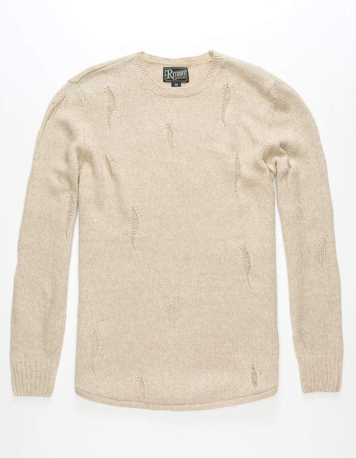 Retrofit Ian Ripped Mens Sweater