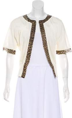 Giambattista Valli Lightweight Short Sleeve Cardigan